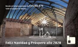 Feliz Navidad y Próspero año 2020, Estudio b76